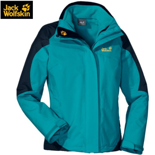 Jack Wolfskin COOL MOVE JACKET WOMEN - Doppeljacke Damen [cyan / XL]