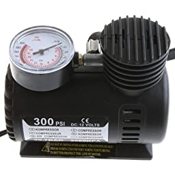 Docooler® Portable DC 12V Electric Car Automotive 300PSI Air Compressor Tire Inflator