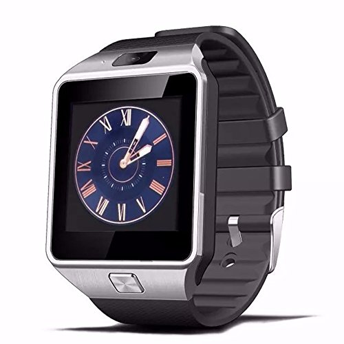 Leelbox DZ09 smart watch latest card Bluetooth support Android Apple system, watch mobile phone Android smart mobile phone watch (Black)