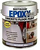 RUST-OLEUM 225380 Epoxy Shield Battleship Gray Base Single Part 1-Gallon Armor Concrete Floor Paint