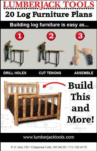 Lumber Jack Tools EZ Log Furniture Plans Booklet