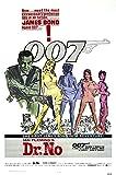 """Posters USA - 007 Dr. No James Bond Movie Poster - MOV185 (24"""" x 36"""" (61cm x 91.5cm))"""
