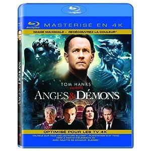 Anges & démons [Blu-ray masterisé en 4K]