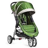 Lightweight Stroller 3-Wheel Baby Jogger City Mini Lime/Gray [BJ0141144060]