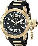 Invicta Men's 12964 Force Black Dial Black Polyurethane Watch