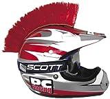 #4: PC Racing Helmet Mohawk - Red PCHMRED