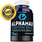 100% Natural Testosterone Booster Supplement for Men - Safely Boost Low Testosterone Levels Risk Free - Gain Energy