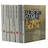 Albert Camus 8 Books Collection Set (The First Man, The Rebel, Exile and the Kingdom: Stories, The Plague , The Outsider, The Fall, A Happy Death,Caligula and Other Plays: Caligula; Cross Purpose; The Just; The Possessed,)by Albert Camus