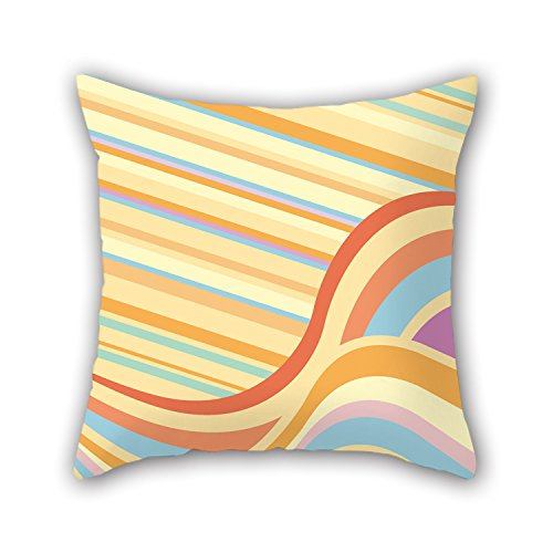 PILLO Colorful Geometry Throw Pillow Covers 18 X 18 Inches / 45 By 45 Cm For Her,deck Chair,coffee House,floor,kids,saloon With Double Sides (Checked Tea Kettle compare prices)