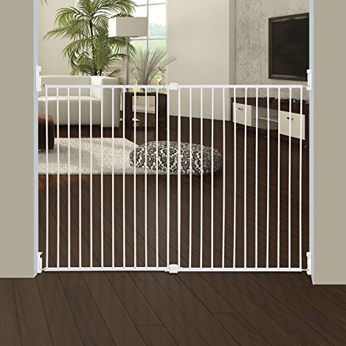 dreambaby-broadway-extra-wide-and-tall-expandable-gate-with-track-it-technology-white