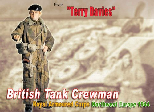 1/6 British Tank Crewman, 1944 DML70591