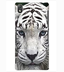 ColourCraft Tiger Look Design Back Case Cover for SONY XPERIA Z3