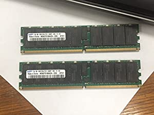 8GB (2x 4GB) Samsung PC2-5300P DDR2-667 Server Memory RAM ECC REG M393T5166AZA-CE6