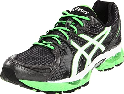 ASICS Men's GEL-Nimbus 13 Running Shoe,Storm/Onyx/Electric Apple,13.5 M US