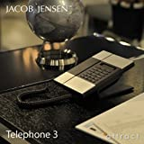 JACOB JENSEN ヤコブ・イェンセン T-3 Telephone 3 (電話機 テレフォン) ディスプレイ搭載 壁掛け対応 スタンド付属 電源コード不要 JJN-01-010