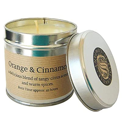 St Eval Scented Candle Tin - Orange Cinnamon