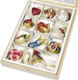 Bride's Tree Ornaments Set of 12 By Inge-Glas, Hand Made in Germany