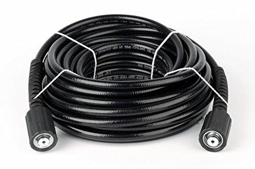 "1/4"" X 50' 3000Psi Kink Resistant Pressure Washer Hose (2) 22Mm-14 Twist Connect"