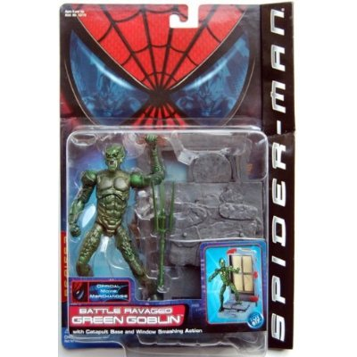 "SPIDER MAN "" GREEN GOBLIN "" BATTLE RAVAGED GREEN GOBLIN MOC - 1"