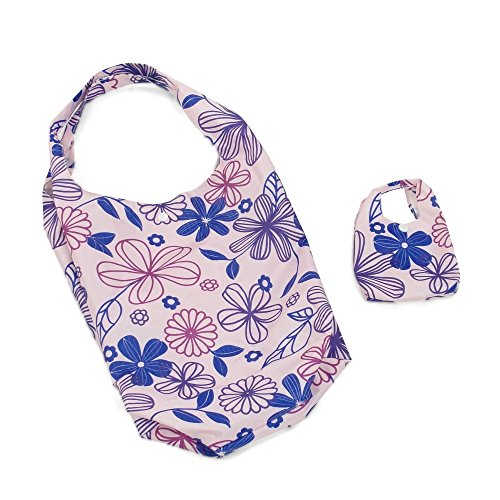 18 Inch Doll Carrier Bag   Doll Carrier Fits Inside Doll Purse   Lavender Floral Design   Accessories - 1
