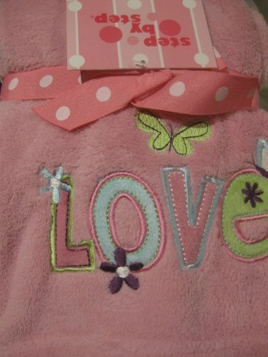 "Step By Step ""Love"" Coral Fleece Blanket"