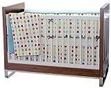 Skip Hop Mod Dot Crib Bedding 4 Piece Set, Mod Dot