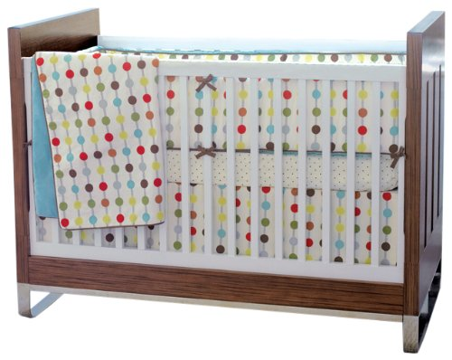 Skip Hop 4 Piece Crib Bedding Set Mod Dot Check Price