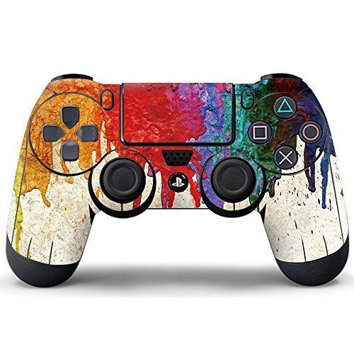 Pandaren controller skin sticker faceplates for ps4 for Housse manette ps4