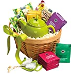 Tea, Cookies and Teapot Gift Basket