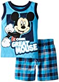 Disney Baby-Boys Infant 2 Piece One Great Mouse Mickey Mouse Jersey Muscle Top