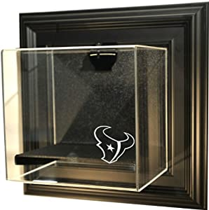 NFL Houston Texans Mini-Helmet Case-Up Display Case with Museum Quality UV Upgrade by Caseworks