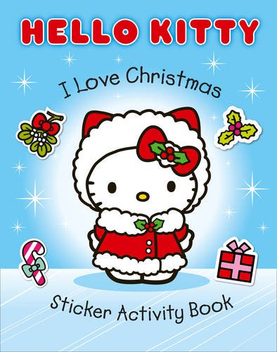 Hello Kitty - I Love Christmas Sticker Activity Book