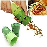 Bella Plaza Multifunction Vegetable Fruit Processing Twister Cutter Slicer Device Kitchen Utensil Tool