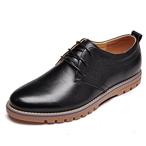 scarpe casual da uomo/Scarpe da uomo/pelle/Inghilterra pizzo scarpe basse-C Lunghezza piede=25.3CM(10Inch)