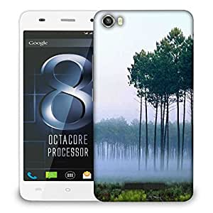 Snoogg Smog And Trees Designer Protective Phone Back Case Cover For LAVA IRIS X8