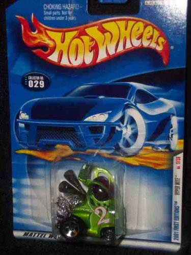 Hot Wheels 2001-029 First Edition 17 of 36 Hyper Mite 1:64 Scale - 1