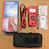 Benning MM 1-1 Digital Multimeter 2000 Counts, LCD CAT III 600 V