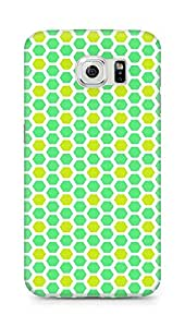 Amez designer printed 3d premium high quality back case cover for Samsung Galaxy S6 (Texture4)