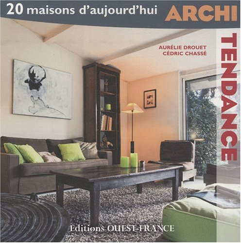livre archi tendance 20 maisons d 39 aujourd 39 hui dvd. Black Bedroom Furniture Sets. Home Design Ideas