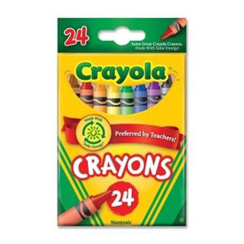 Crayola Peggable, 24 Ct Crayons (6 Pack) - 1