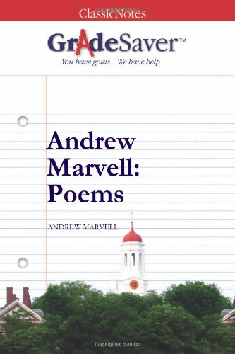 andrew marvell the garden A well-organized essay before you start working on your essay andrew marvell's the garden is a striking example of lyrical, pastoral poetry during marvell's life, england was experiencing a great deal of political and religious upheaval.
