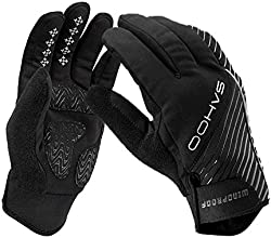 Sahooreg Winter Outdoor Gloves Wind Resistant Warm Keeper for Men39s Winter Outdoor Cycling Glove To