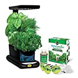 Miracle-Gro AeroGarden Sprout LED with Gourmet Herb Seed Pod Kit, Black