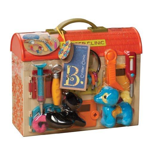 B Critter Clinic Toy Vet Play Set by B