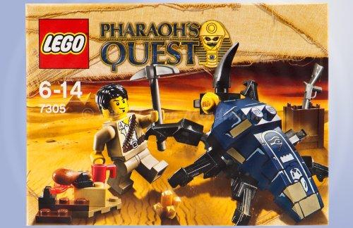 LEGO Pharaohs Quest 7305 Angriff des Skarabäus