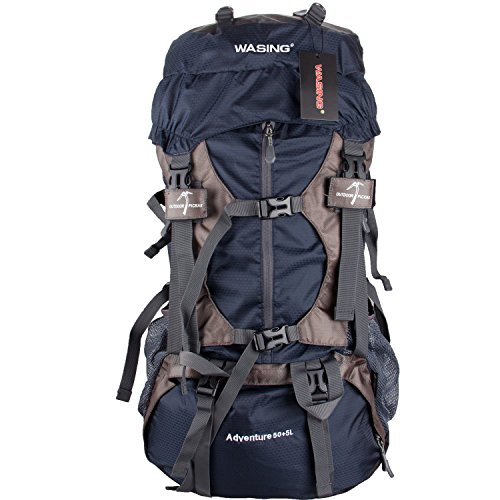 WASING-55L-Internal-Frame-Backpack-Hiking-Backpacking-Packs-for-Outdoor-Hiking-Travel-Climbing-Camping-Mountaineering-with-Rain-Cover-WS-55Lpack