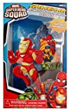 Superhero Squad Great Smile Toothbrush Gift Set - Includes Toothbrush Holder, Toothbrush, & Rinse Cup