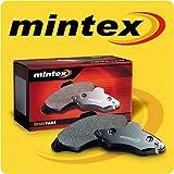 Front Mintex Brake Pads Mitsubishi L200 2.5L 1986 to 1996 - MDB1539