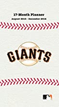 "Turner San Francisco Giants 17 Month Planner, August 2015 - December 2016, 3.5 x 5"" (8890587)"
