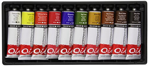 daler-rowney-graduate-oil-selection-set-38ml-pack-of-10
